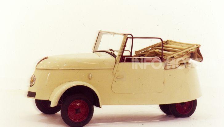 Peugeot ha celebrato sei modelli della sua storia  al salone Rétromobile di Parigi - Foto 13 di 13