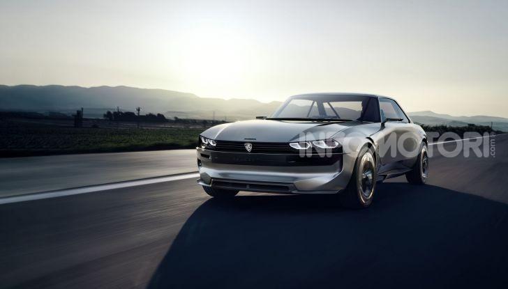 Peugeot ha celebrato sei modelli della sua storia  al salone Rétromobile di Parigi - Foto 11 di 13