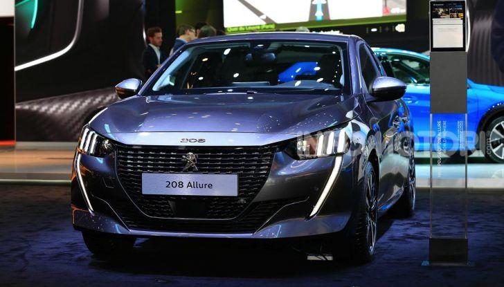 Nuova Peugeot 208 elettrica, Diesel e benzina già prenotabile - Foto 19 di 44