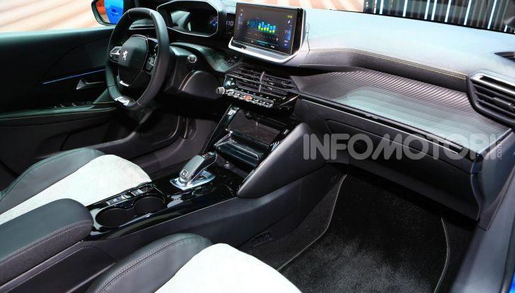 Peugeot e-208 elettrica: dati, caratteristiche e prestazioni - Foto 12 di 20