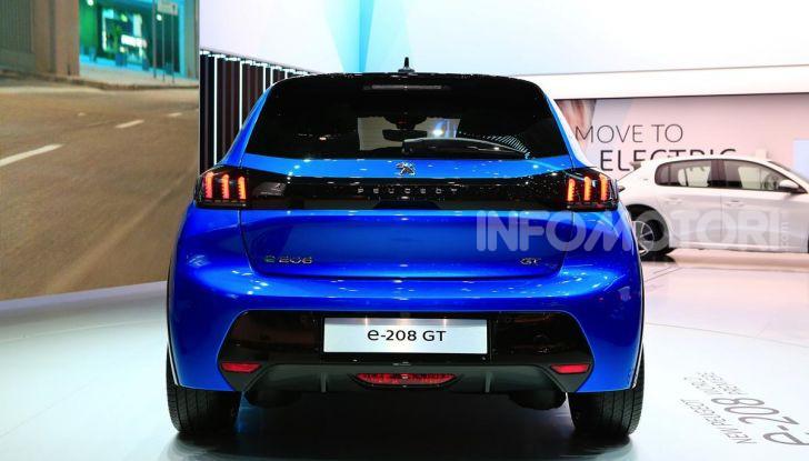 Peugeot e-208 elettrica: dati, caratteristiche e prestazioni - Foto 6 di 20