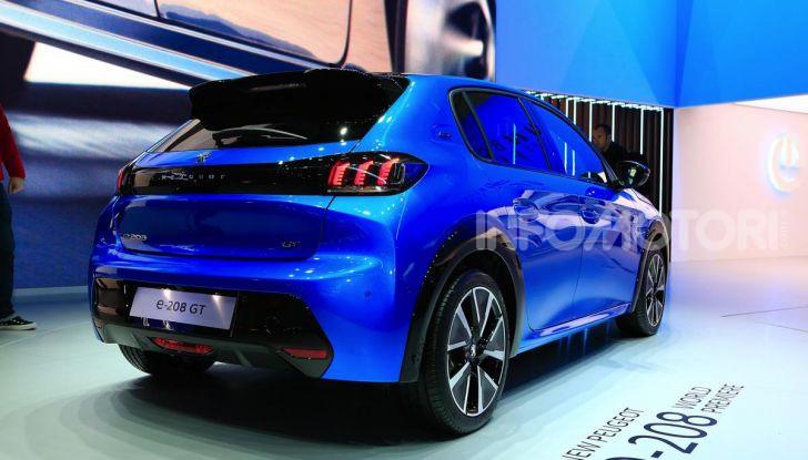 Peugeot e-208 elettrica: dati, caratteristiche e prestazioni - Foto 7 di 20