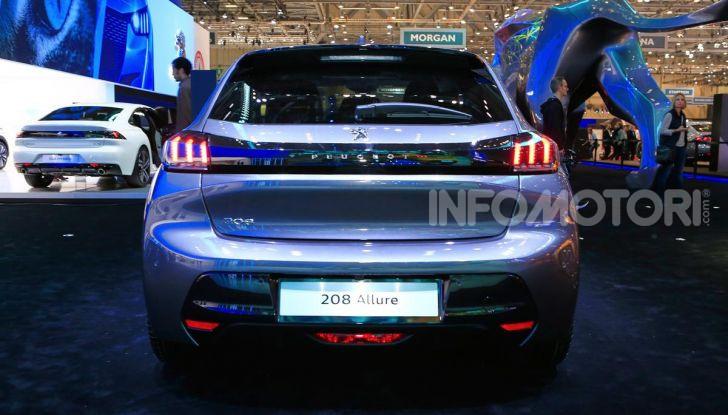 Nuova Peugeot 208 2019: caratteristiche, allestimenti e prezzi - Foto 21 di 44