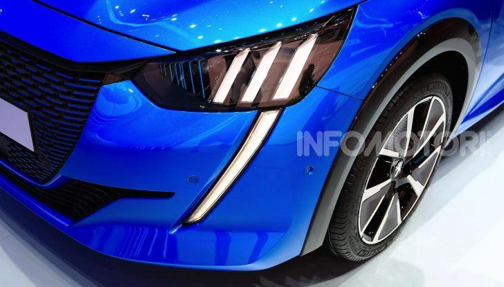 Peugeot e-208 elettrica: dati, caratteristiche e prestazioni - Foto 9 di 20