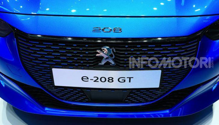 Peugeot e-208 elettrica: dati, caratteristiche e prestazioni - Foto 4 di 20