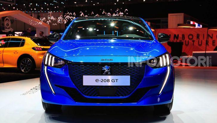 Peugeot e-208 elettrica: dati, caratteristiche e prestazioni - Foto 3 di 20