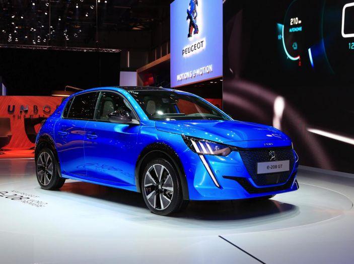 Peugeot e-208 elettrica: dati, caratteristiche e prestazioni