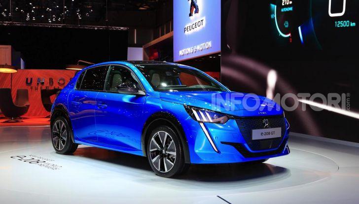 Nuova Peugeot 208 elettrica, Diesel e benzina già prenotabile - Foto 43 di 44