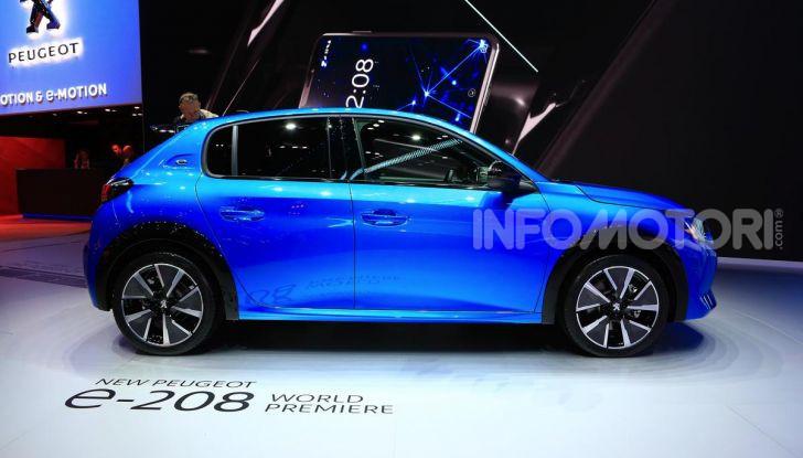 Peugeot e-208 elettrica: dati, caratteristiche e prestazioni - Foto 2 di 20