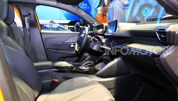 Nuova Peugeot 208 elettrica, Diesel e benzina già prenotabile - Foto 14 di 44