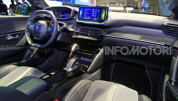 Peugeot e-208 elettrica: dati, caratteristiche e prestazioni - Foto 20 di 20