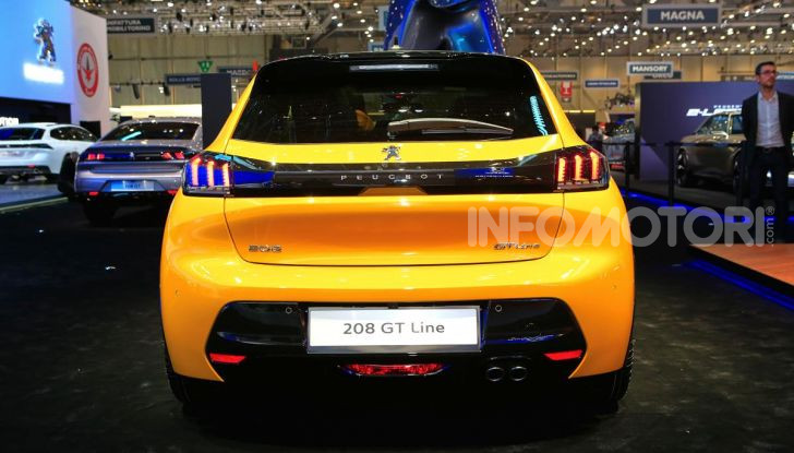 Nuova Peugeot 208 elettrica, Diesel e benzina già prenotabile - Foto 9 di 44