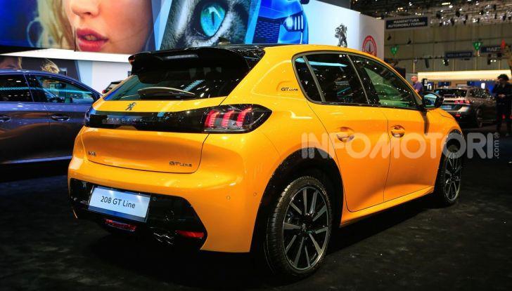 Nuova Peugeot 208 elettrica, Diesel e benzina già prenotabile - Foto 4 di 44