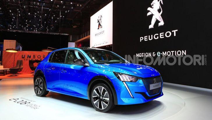 Nuova Peugeot 208 elettrica, Diesel e benzina già prenotabile - Foto 24 di 44