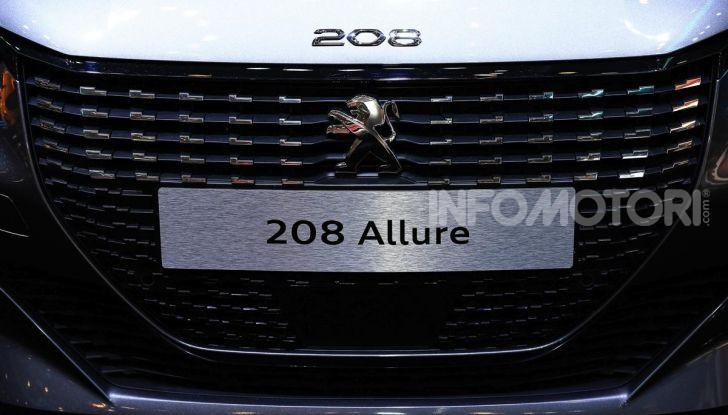 Nuova Peugeot 208 elettrica, Diesel e benzina già prenotabile - Foto 22 di 44