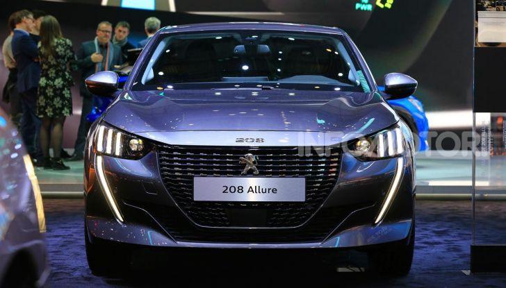 Nuova Peugeot 208 elettrica, Diesel e benzina già prenotabile - Foto 20 di 44