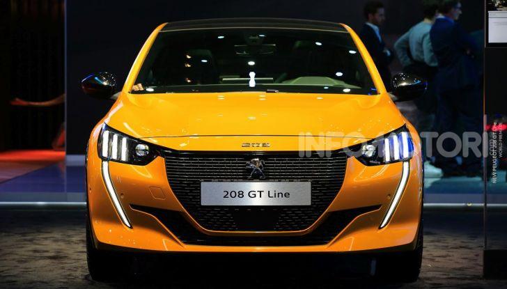Nuova Peugeot 208 elettrica, Diesel e benzina già prenotabile - Foto 1 di 44
