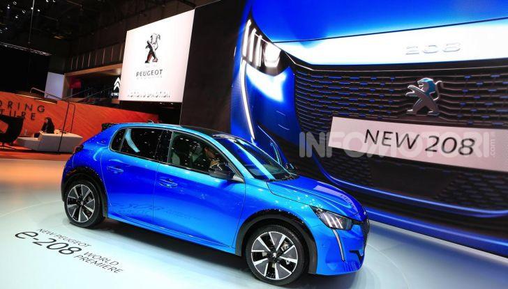Peugeot e-208 elettrica: dati, caratteristiche e prestazioni - Foto 14 di 20