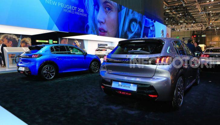 Nuova Peugeot 208 elettrica, Diesel e benzina già prenotabile - Foto 28 di 44