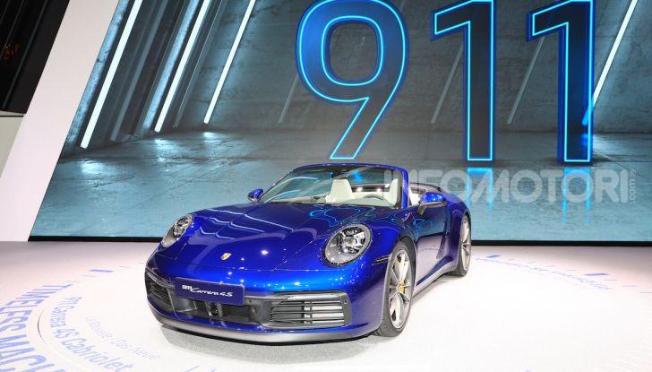 Novità Porsche al Salone di Ginevra 2019 - Foto 18 di 37