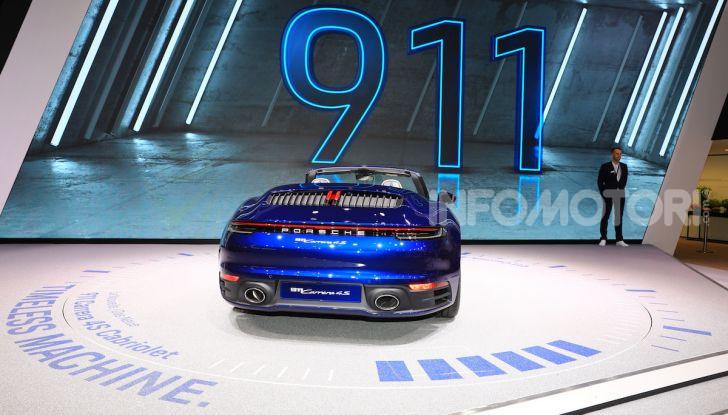 Novità Porsche al Salone di Ginevra 2019 - Foto 25 di 37