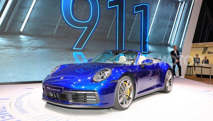 Novità Porsche al Salone di Ginevra 2019 - Foto 3 di 37