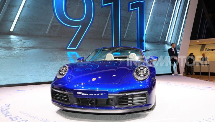 Novità Porsche al Salone di Ginevra 2019 - Foto 4 di 37