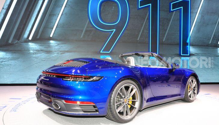 Novità Porsche al Salone di Ginevra 2019 - Foto 8 di 37