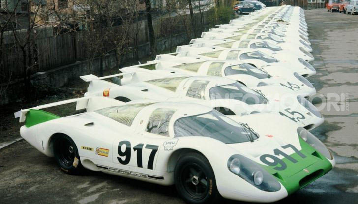 Porsche celebra i 50 anni della 917 - Foto 3 di 8