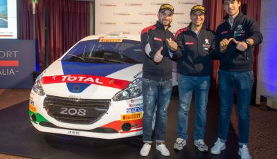 Peugeot scende in gara al 42° Rally il Ciocco con novità