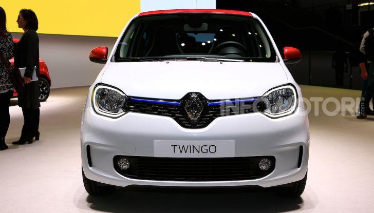 Nuova Renault Twingo 2019: la citycar scattante e ancora più colorata - Foto 9 di 20