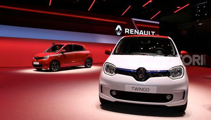 Nuova Renault Twingo 2019: la citycar scattante e ancora più colorata - Foto 10 di 20