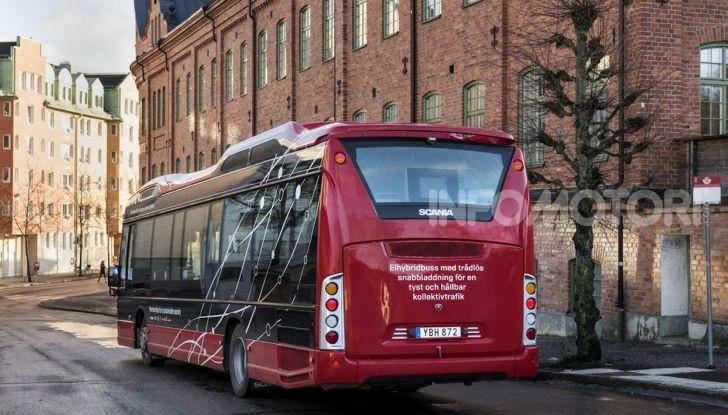 Scania, al via i test di autobus elettrici a guida autonoma - Foto 1 di 6