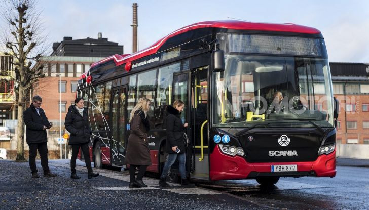 Scania, al via i test di autobus elettrici a guida autonoma - Foto 3 di 6