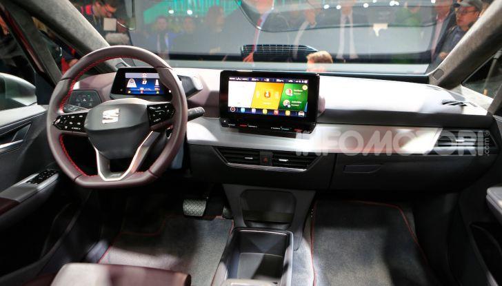 Seat el-Born: l'auto elettrica a basso costo al Salone di Ginevra 2019 - Foto 16 di 17