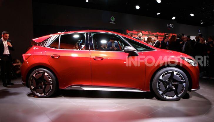 Seat el-Born: l'auto elettrica a basso costo al Salone di Ginevra 2019 - Foto 4 di 17