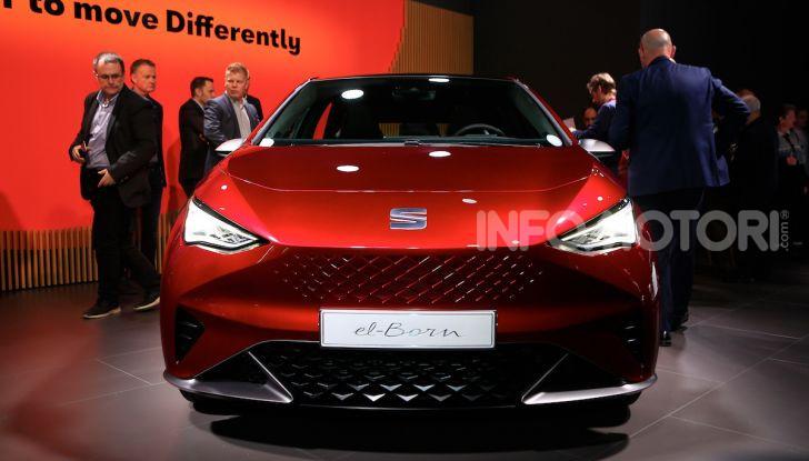 Seat el-Born: l'auto elettrica a basso costo al Salone di Ginevra 2019 - Foto 8 di 17