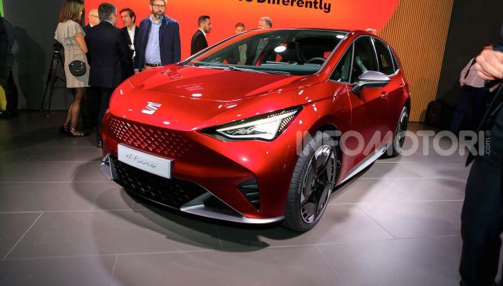 Seat el-Born: l'auto elettrica a basso costo al Salone di Ginevra 2019 - Foto 10 di 17