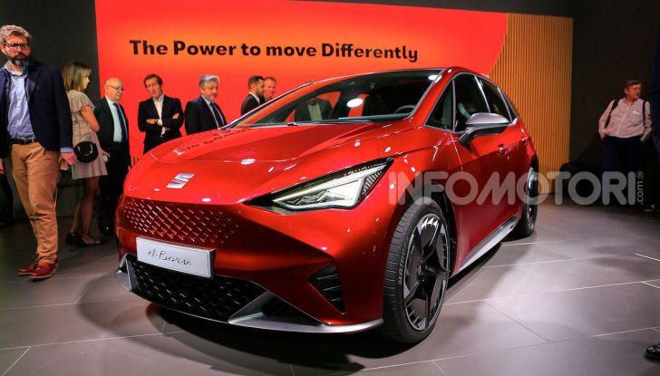Seat el-Born: l'auto elettrica a basso costo al Salone di Ginevra 2019 - Foto 1 di 17