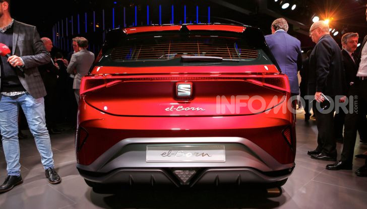 Seat el-Born: l'auto elettrica a basso costo al Salone di Ginevra 2019 - Foto 3 di 17