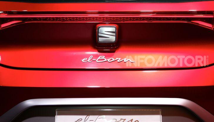 Seat el-Born: l'auto elettrica a basso costo al Salone di Ginevra 2019 - Foto 11 di 17