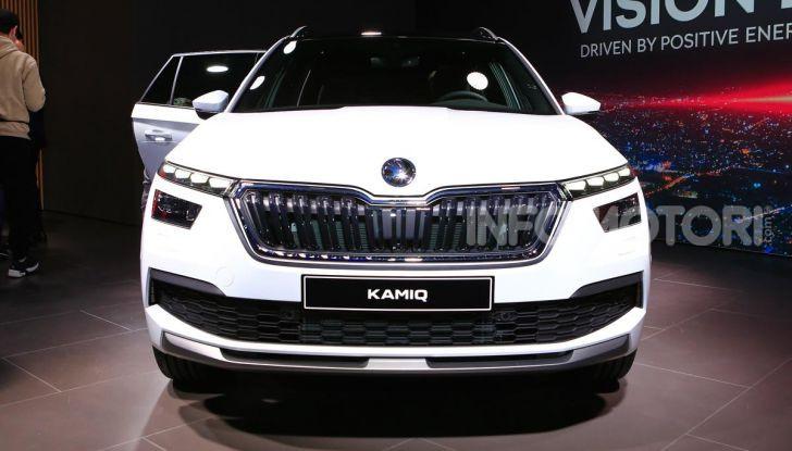 Skoda Kamiq, un nuovo crossover per affiancare Kodiaq e Karoq - Foto 3 di 15
