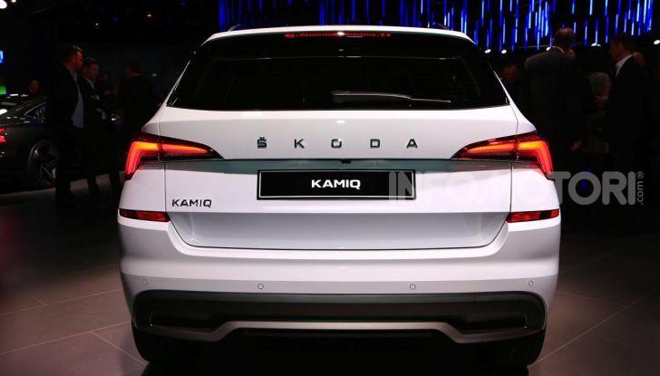 Skoda Kamiq, un nuovo crossover per affiancare Kodiaq e Karoq - Foto 12 di 15