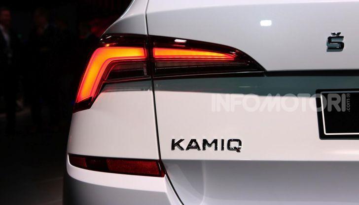 Skoda Kamiq, un nuovo crossover per affiancare Kodiaq e Karoq - Foto 9 di 15
