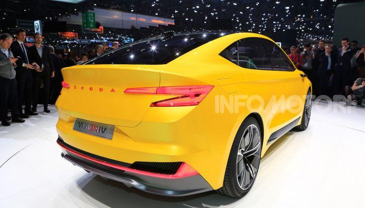 Skoda Vision iV: a Ginevra arriva l'auto elettrica del futuro - Foto 6 di 35