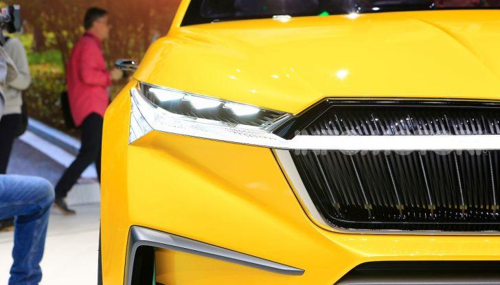 Skoda Vision iV: a Ginevra arriva l'auto elettrica del futuro - Foto 5 di 35