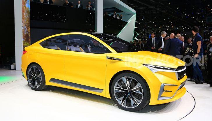 Skoda Vision iV: a Ginevra arriva l'auto elettrica del futuro - Foto 2 di 35