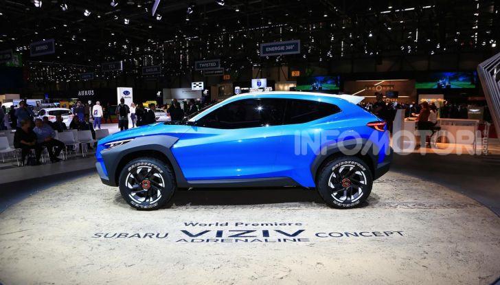 Subaru Viziv Adrenaline: un SUV Coupé ibrido per Ginevra 2019 - Foto 12 di 14