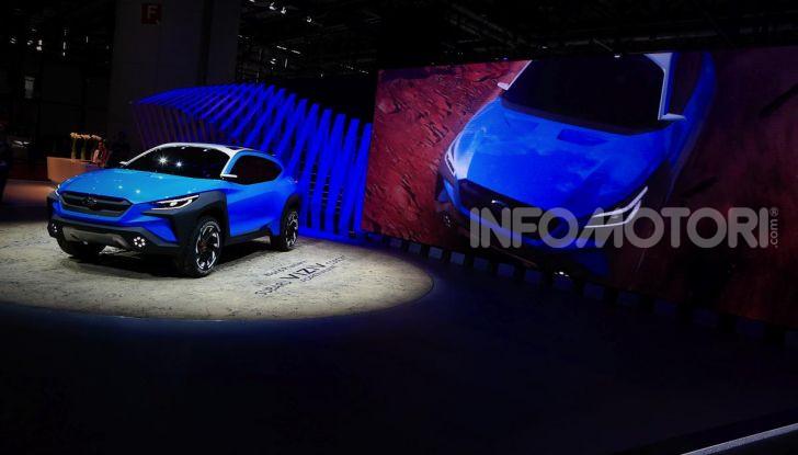 Subaru Viziv Adrenaline: un SUV Coupé ibrido per Ginevra 2019 - Foto 13 di 14