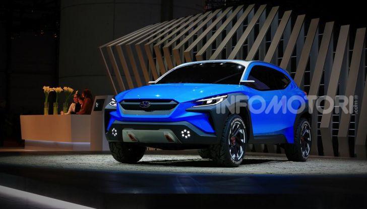 Subaru Viziv Adrenaline: un SUV Coupé ibrido per Ginevra 2019 - Foto 14 di 14